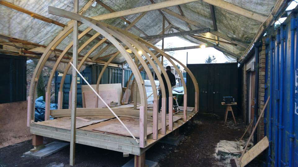 More framework of cabin