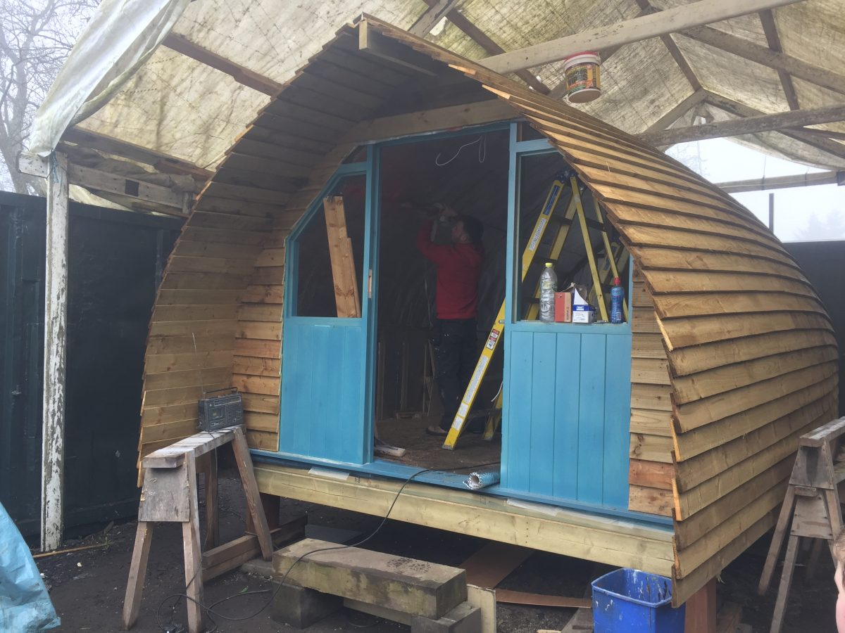Fitting the internal - langley dam glamping