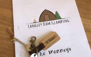 Welcome the langley dam glamping - the welcome pack