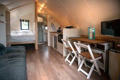 The inner cabin of Blackcleugh