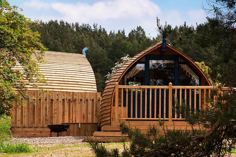 Blackcleugh glamping cabin