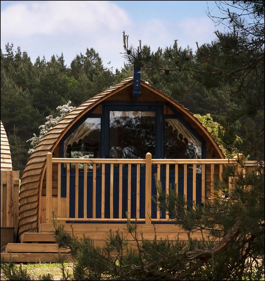 Langley Glamping Cabin