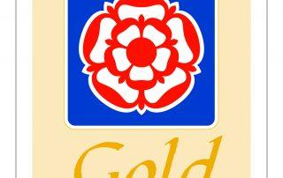 Visit England Glamping Gold logo