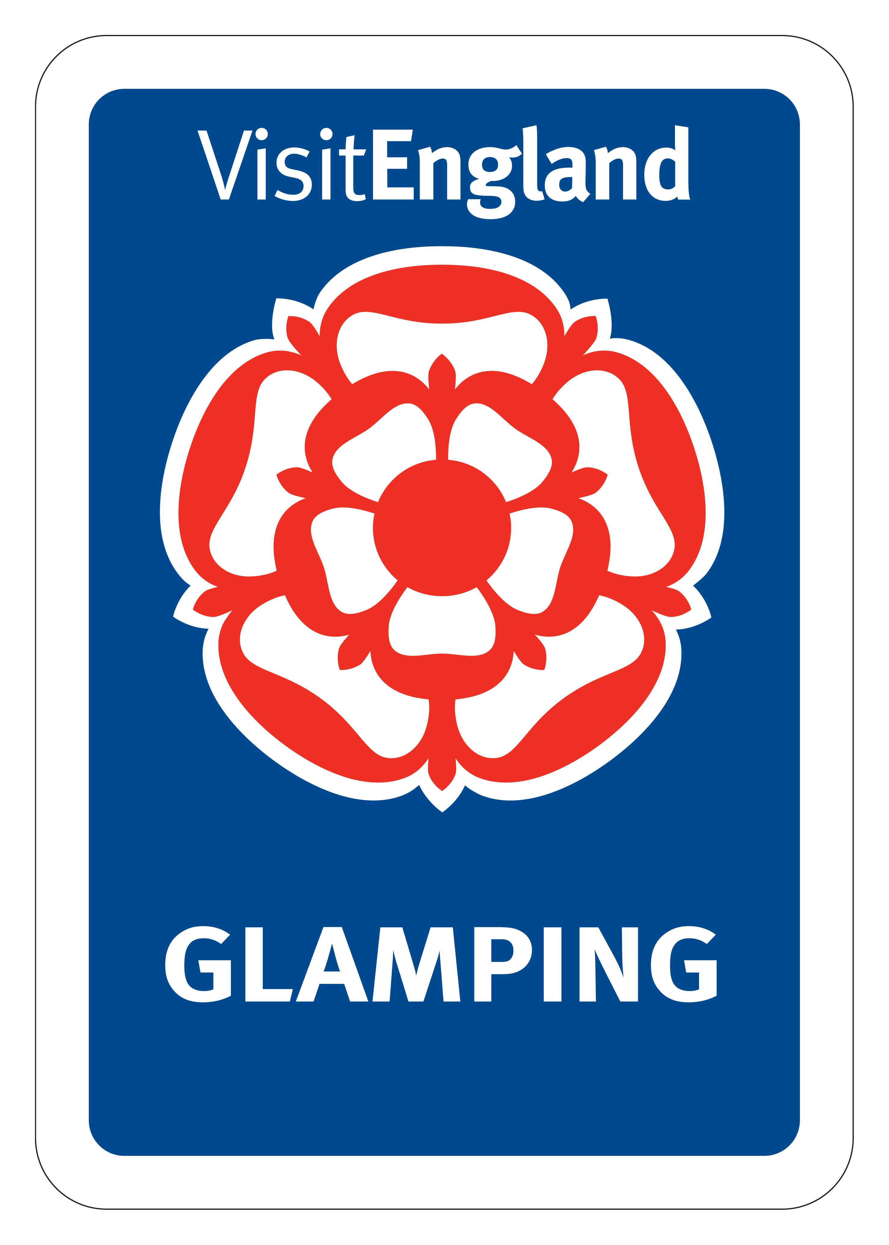 Visit Englang Glamping logo